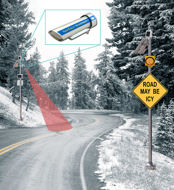 StormLink Lite RWIS Icy Road